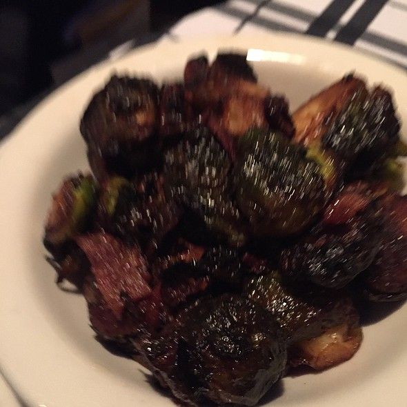 Bacon Brussel Sprouts  @ Hugo's Frog Bar & Fish House
