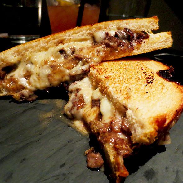 Short Rib Grilled Cheese & Horseradish Cream Sauce @ Gcdc