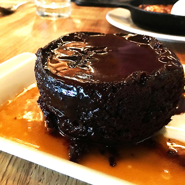 Sticky Chocolate Toffee Pudding @ Earls Kitchen + Bar