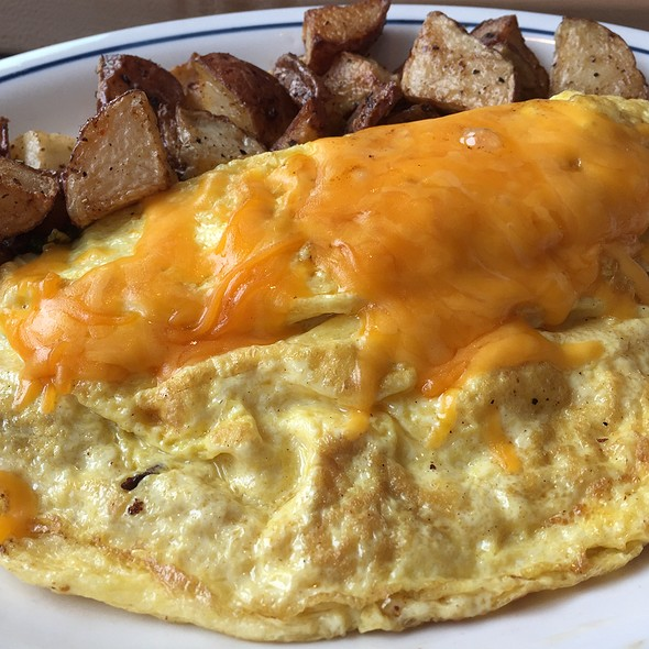 Cheddar And Mushroom Omelette
