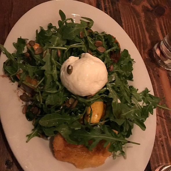 Heirloom Squash Salad @ Twenty Railroad St