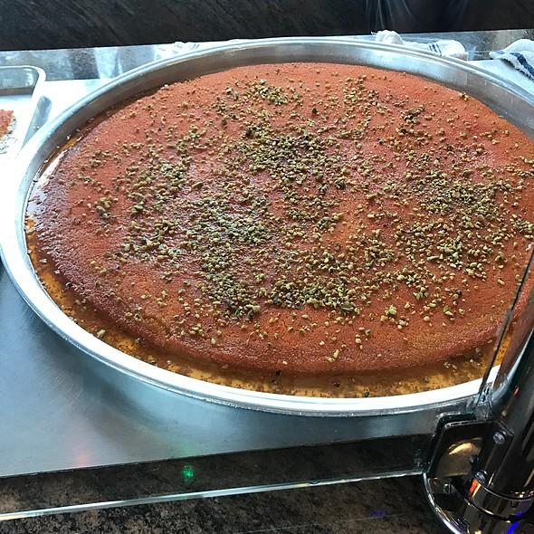 Kanafeh @ Nablus Pastry