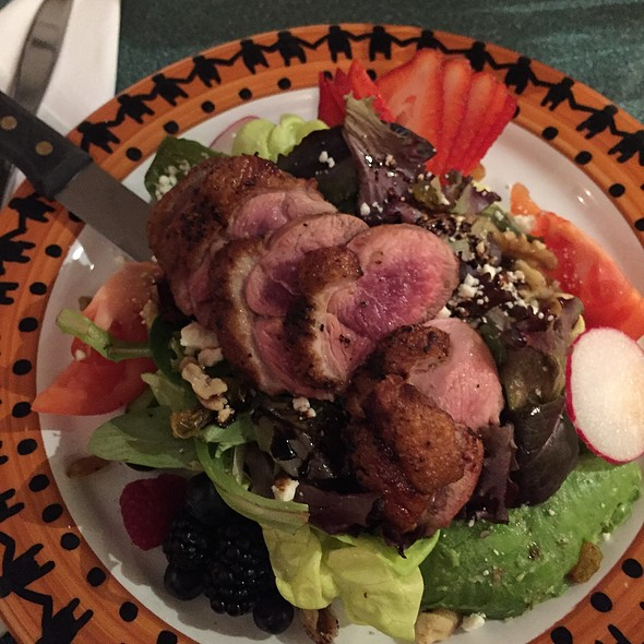 Duck Salad @ Buck's