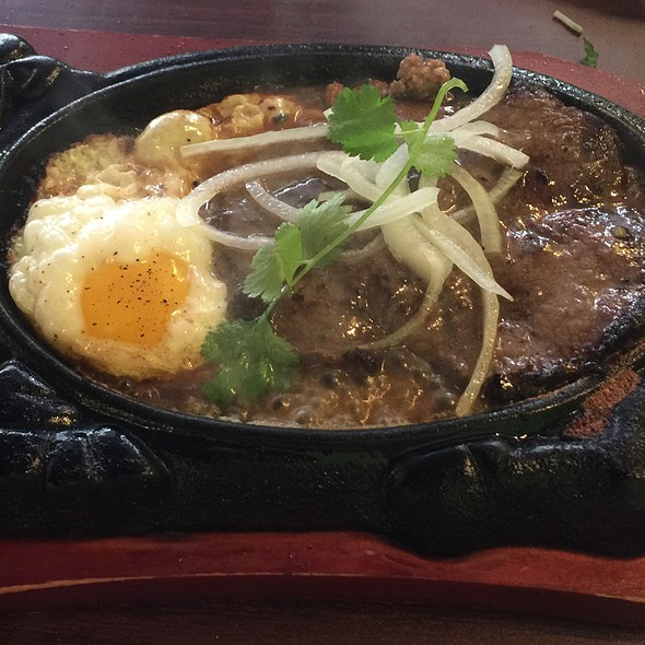 Sizzling Steak And Egg