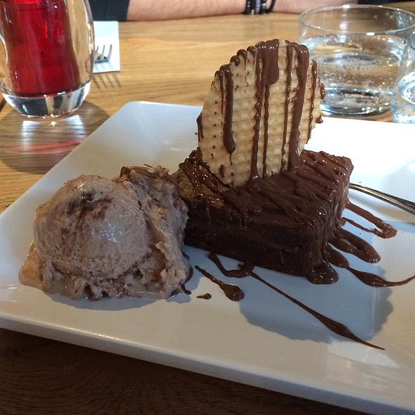 Nutella Brownie @ Bakery Cafe
