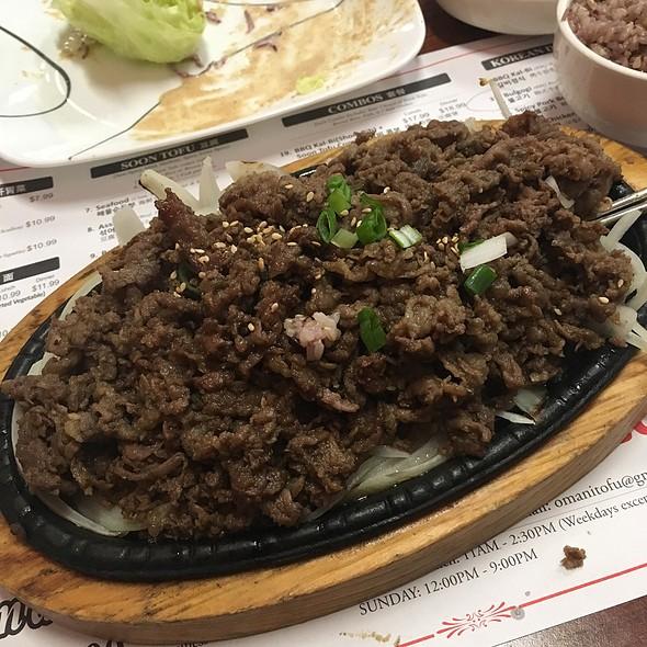 Bulgogi @ Omani Tofu Korean Bbq