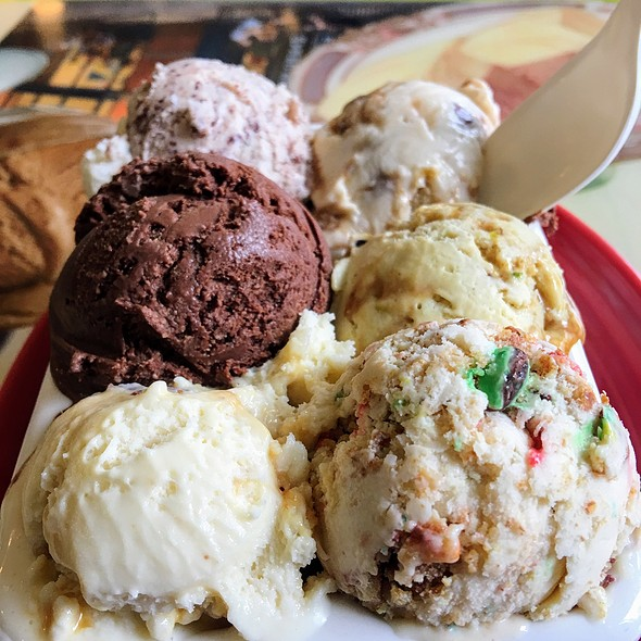 Ice Cream Flight Of Your Flavors