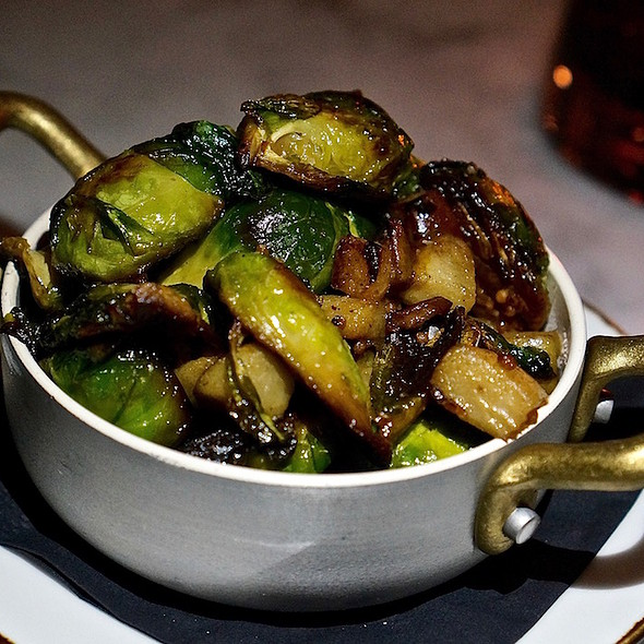 Brussels sprouts, seckel pears