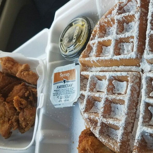 Chicken and Waffles @ Charm City Wings & Waffles