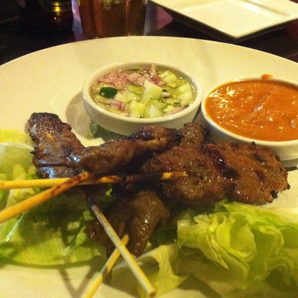 Kobe Beef Satay - Red Koi Lounge, Coral Gables, FL