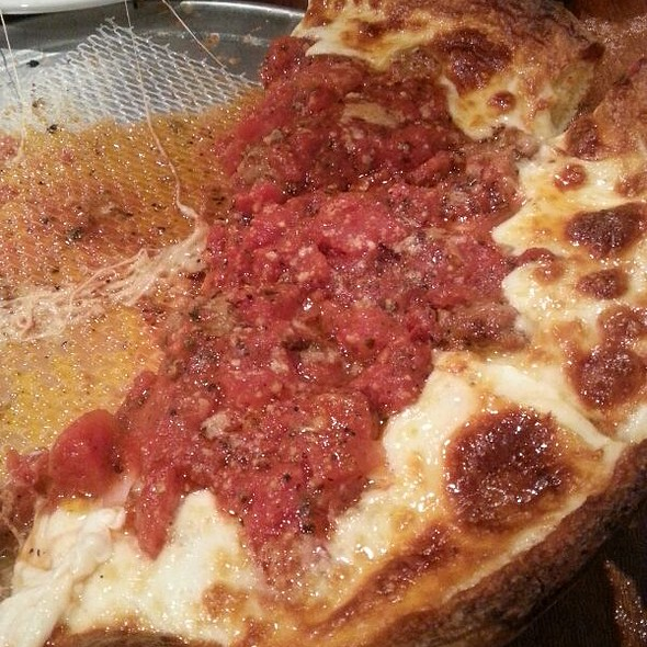 Carnivore Chicago Style Deep Dish Pizza @ Rance's Chicago Pizza