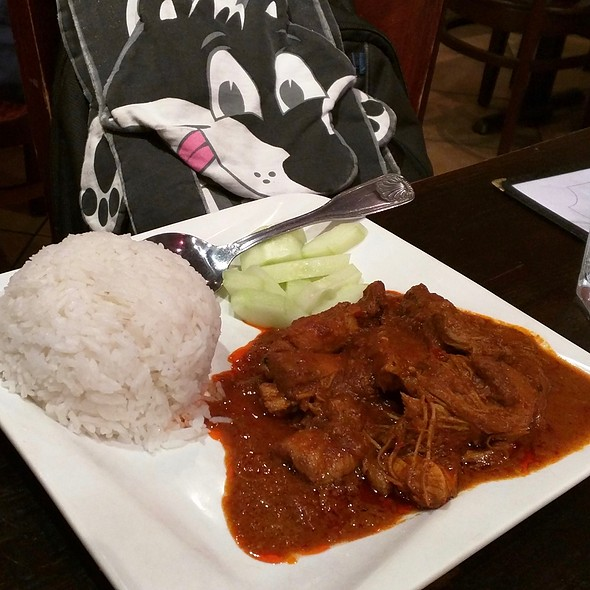 Curry Chicken @ Penang Malaysian & Thai Cuisin