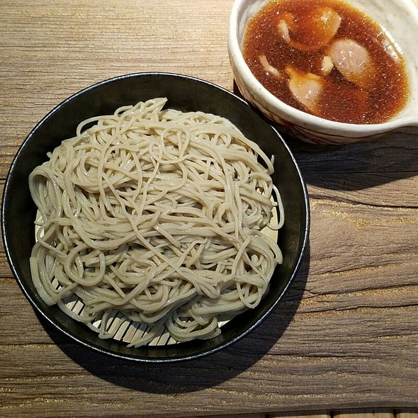 Cold Soba With Hot Duck Soup