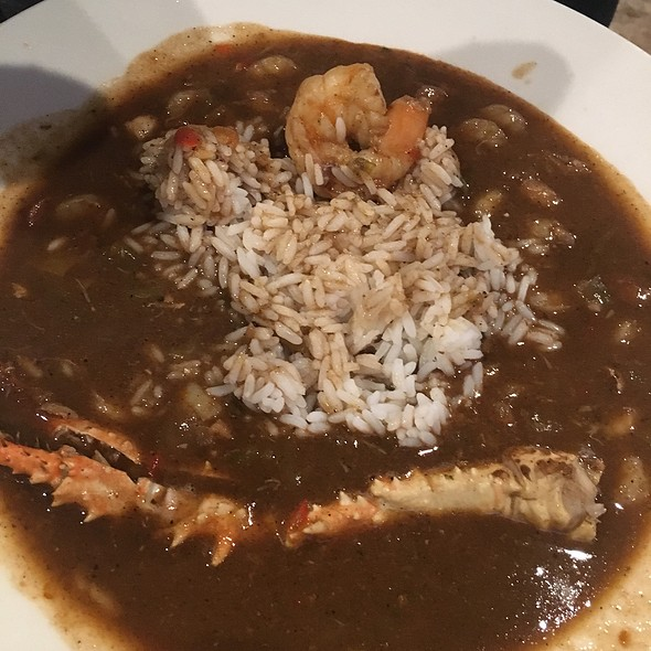 seafood gumbo @ Beola's Southern Cuisine