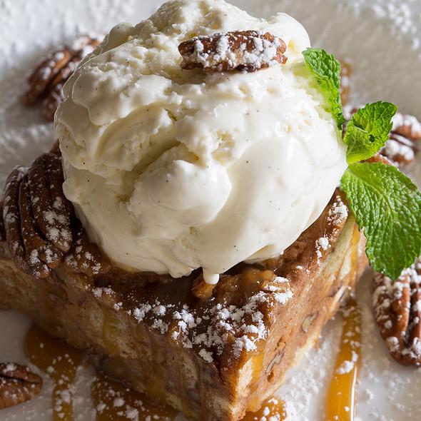 Pecan Sweet Potato Bread Pudding @ Glenmorgan Bar & Grill