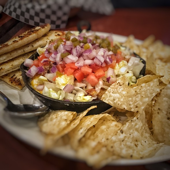 Seventh Heaven Layered Dip @ St.Louis Bar & Grill