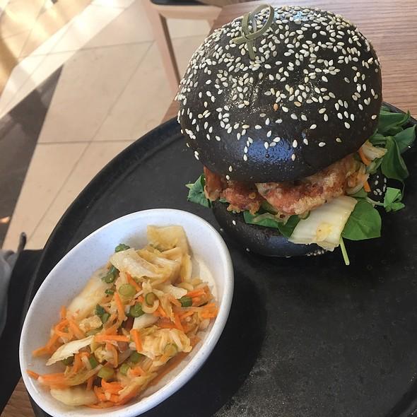 Softshell Crab Burger @ Axil Cafe