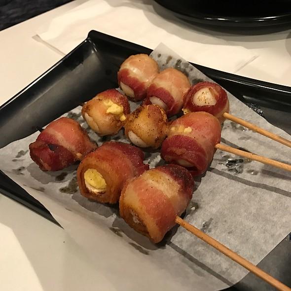 Bacon Wrapped Quail Eggs