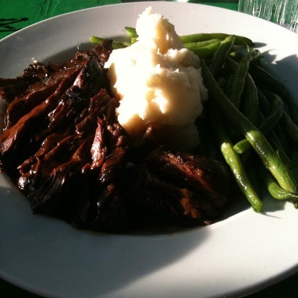 Bison Hanger Steak - Wild Flower Restaurant, Bar & Catering, St. Louis, MO