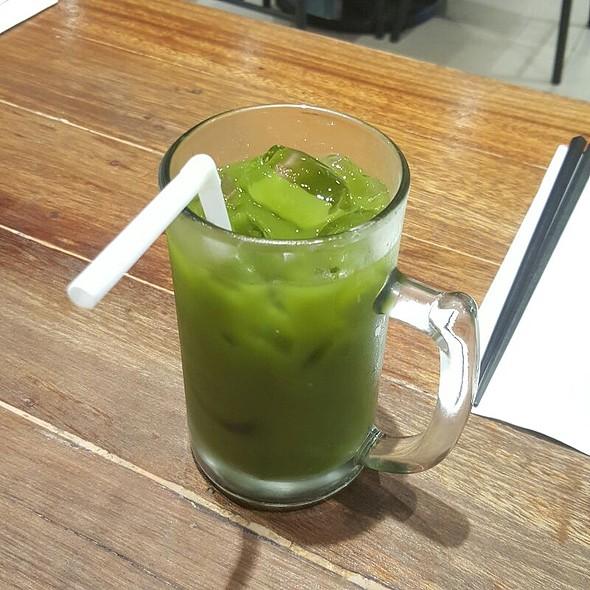 Iced Green Tea @ Hanamaruken Ramen