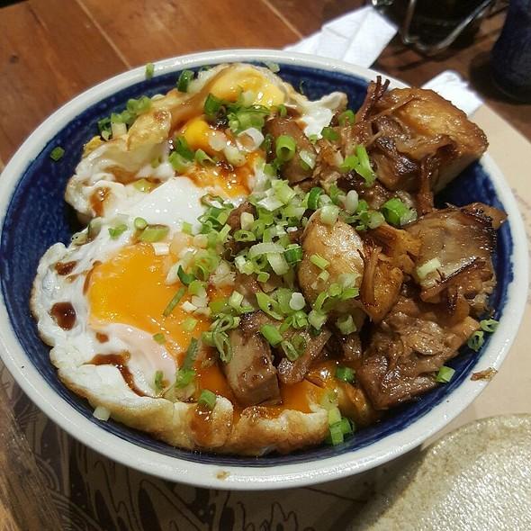 Drunk Man Rice Bowl @ Hanamaruken Ramen