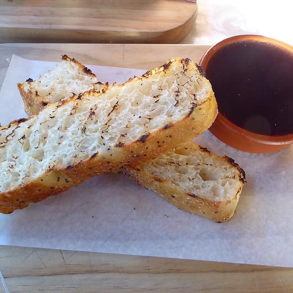 Chicken liver parfait on toast