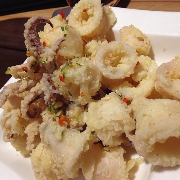 Salt and Pepper Squid @ Din Tai Fung
