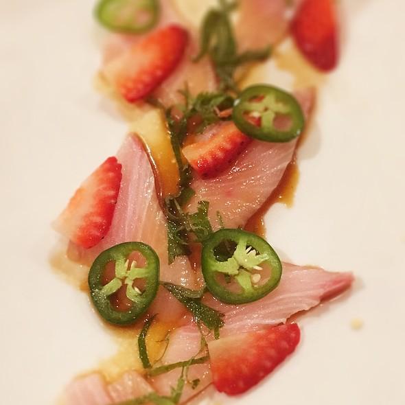 Yellowtail Jalapeño Special @ Ninja Restaurant and Sushi Bar