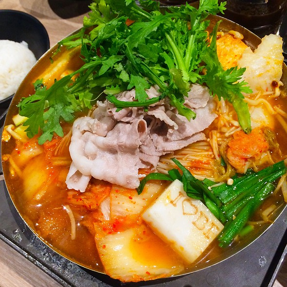 Korean Bean Paste Hot Pot @ Boiling Point