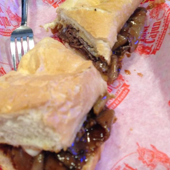 Roast Beef Poboy @ The Lost Cajun