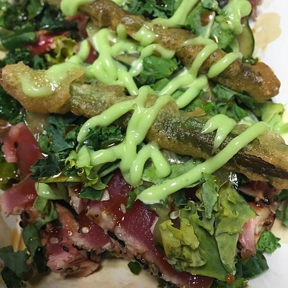 Teriyaki Tuna Kale Salad @ Sugarfire Smoke House