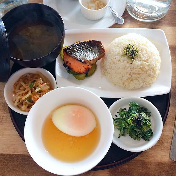Japanese Breakfast @ Cassava Bakery + Cafe