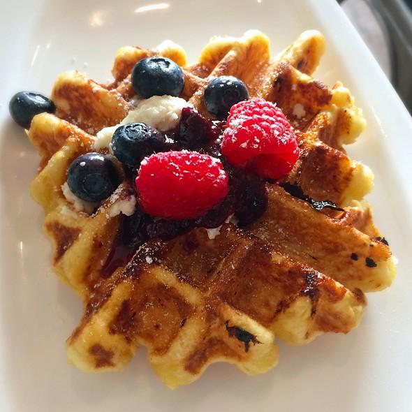 Liege Waffle @ Cassava Bakery + Cafe