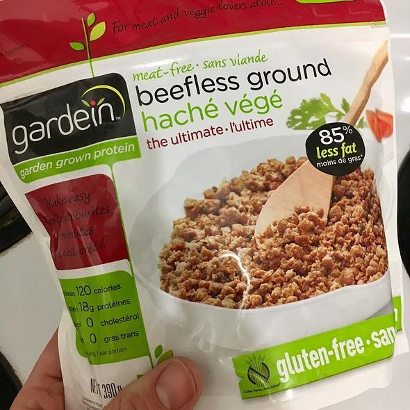 Vegan Beefless Ground