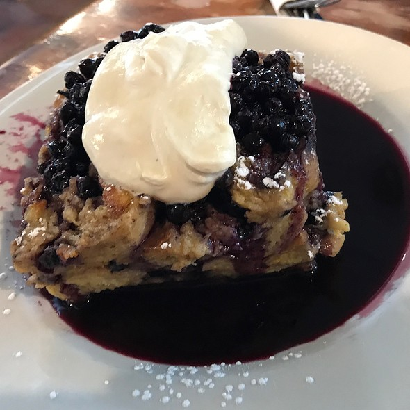 Baked Blueberry French Toast @ Haven Cafe & Bakery