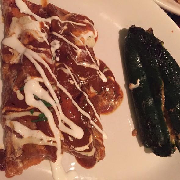 Steak Enchiladas @ Houlihan's