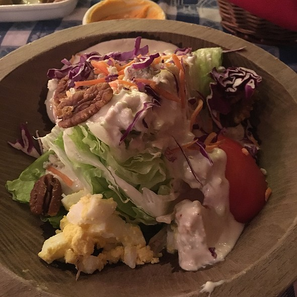 Wedge Salad @ Angus Barn