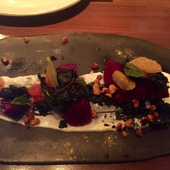 Roasted Beets With Pistachios, Spinach, Citrus, And Yogurt