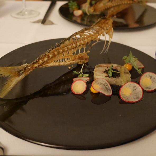 Terrine of Horse Mackerel and Daikon Radish @ Nagaya