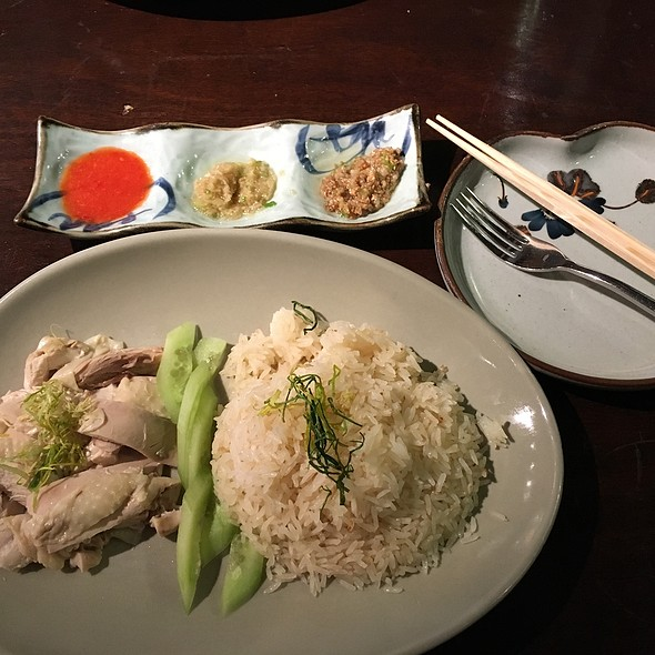 Hainanese chicken @ Imperial Lamian Chicago Il