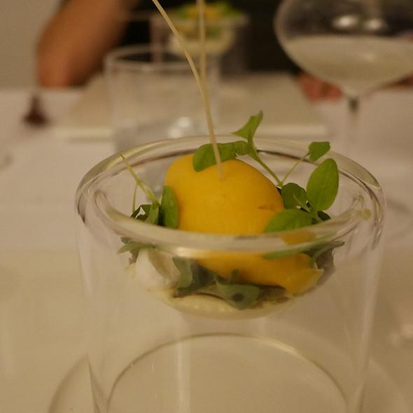 Passion Fruit Sorbet, Caramelized Pineapple @ Nagaya
