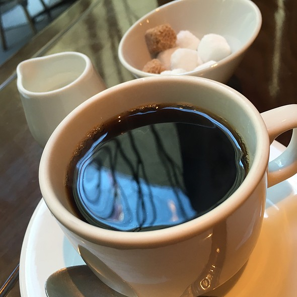 Hot Coffee @ BISTRO DOUBLE
