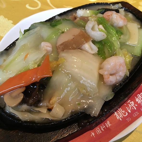焼き刀削麺 @ 桃源郷