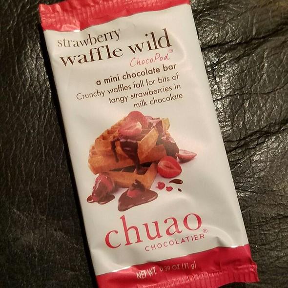 Chuao Strawberry Waffle Wild Choco Pod