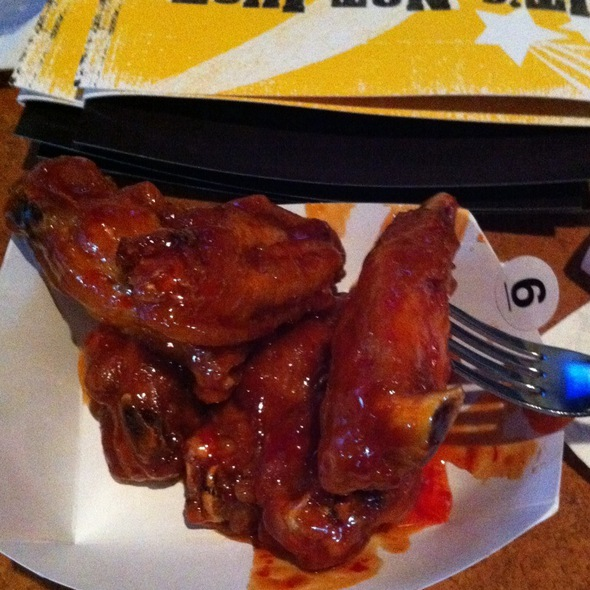 Chicken Wings With Asian Zing Sause @ Buffalo Wild Wings Grill & Bar