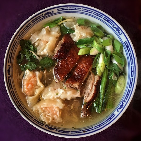Duck And Wonton Noodle Soup @ Little Venice Country Park