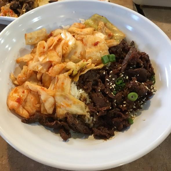 Korean BBQ Beef Bowl