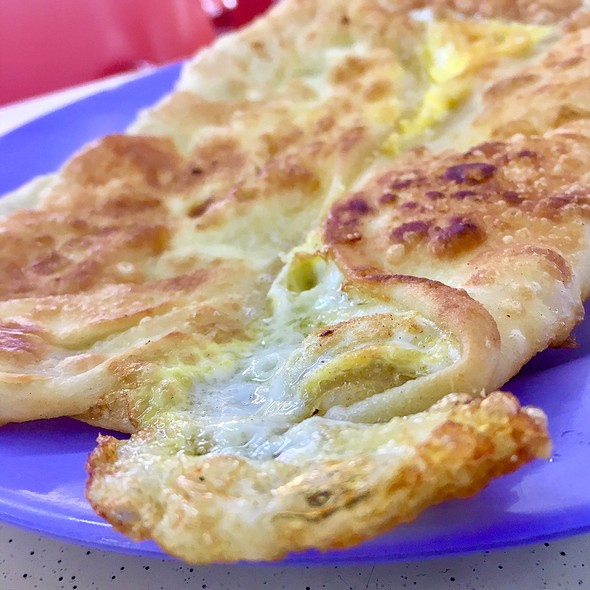 Double Egg Prata @ The Roti Prata House