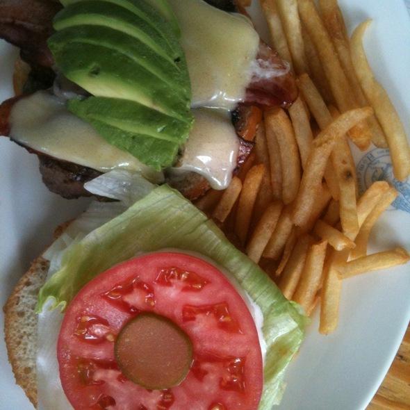 Avocado Cheese Bacon Burger