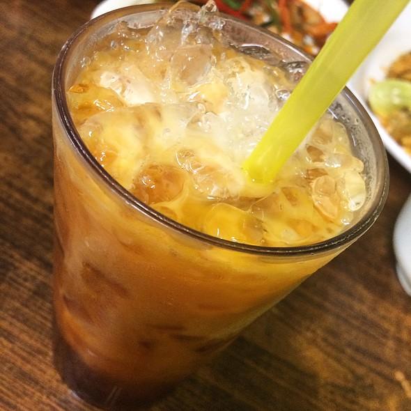 Thai Iced Milk Tea @ Beer Thai Restaurant